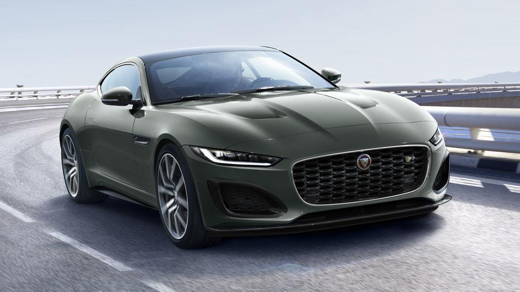 2021年捷豹F-Type 遗产60版是快速,独家和经典的绿色