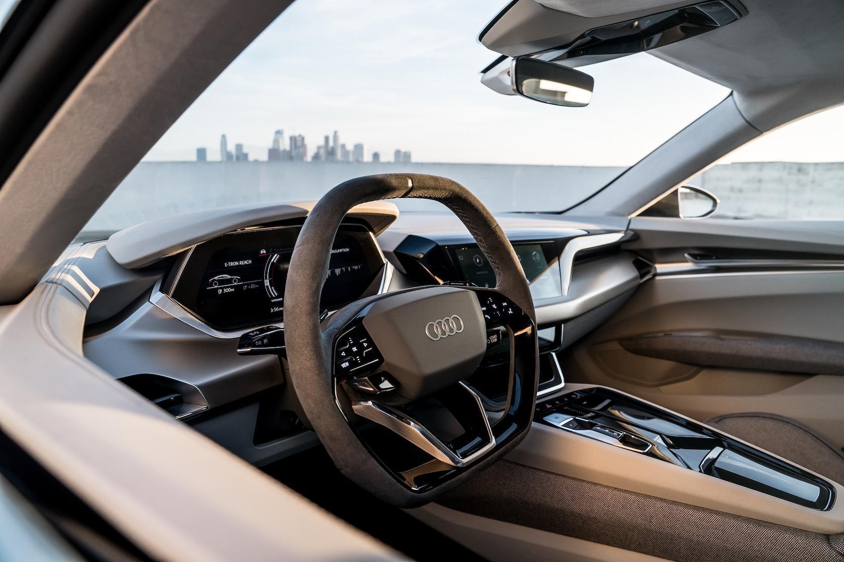 奥迪e-tron GT概念车是最好的诱饵和开关