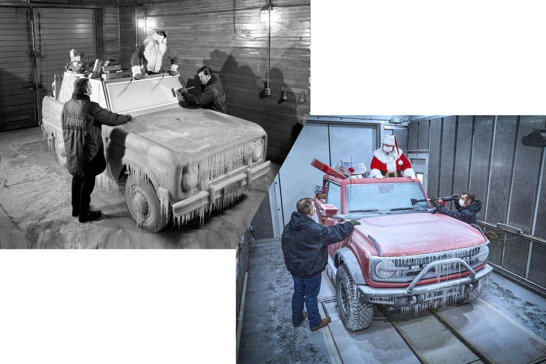 52年后,圣诞老人仍在挖掘福特野马