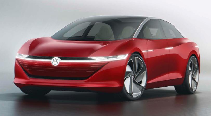 据报道,大众计划用大型电动轿车挑战特斯拉Model S