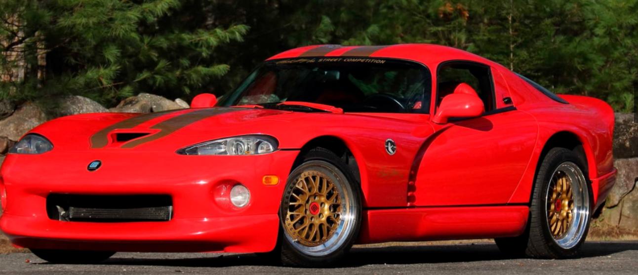 前浪汽车:世界上唯一的道奇·谢尔比·毒蛇GTS / CS拍卖