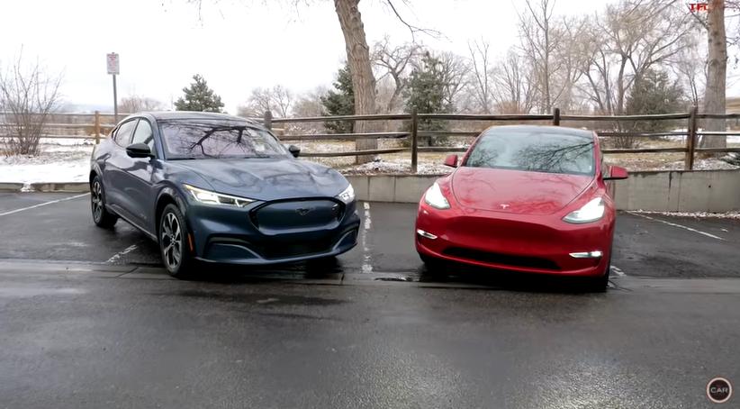 前浪汽车:福特野马Mach-E vs 特斯拉Model Y:哪一款电动跨界车更好?