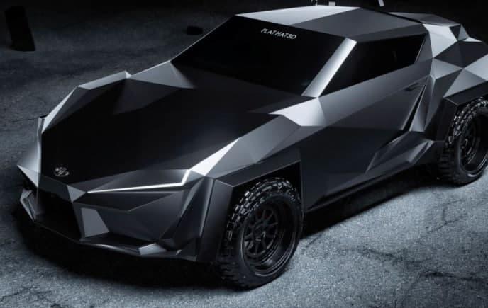 丰田Supra概念车将在蝙蝠洞中看起来像在家一样