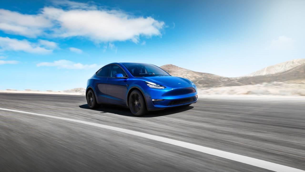2021特斯拉Model Y标准系列RWD车型首次亮相,售价41,990美元