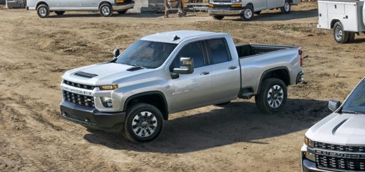2021年雪佛兰Silverado 2500HD定制车型现已推出柴油6.6升V8发动机