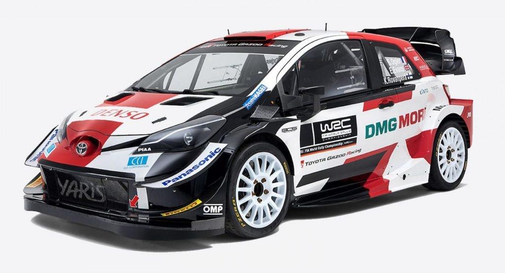 丰田推出2021年新款雅力士WRC赛车