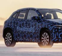 梅赛德斯-奔驰EQA电动SUV在1月20日首次亮相前被曝光