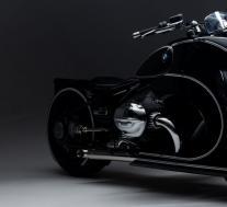 宝马巨大的格栅迷恋通过一次性R 18激情精神传到了摩托车上