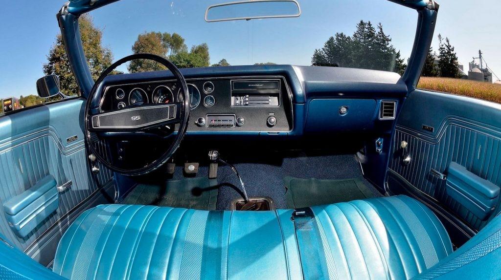 1970年雪佛兰Chevelle SS以令人垂涎的价格售出38.5万美元