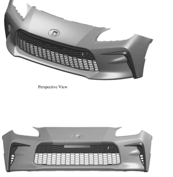 前浪汽车:2022年丰田GR 86设计专利揭示了前端样式