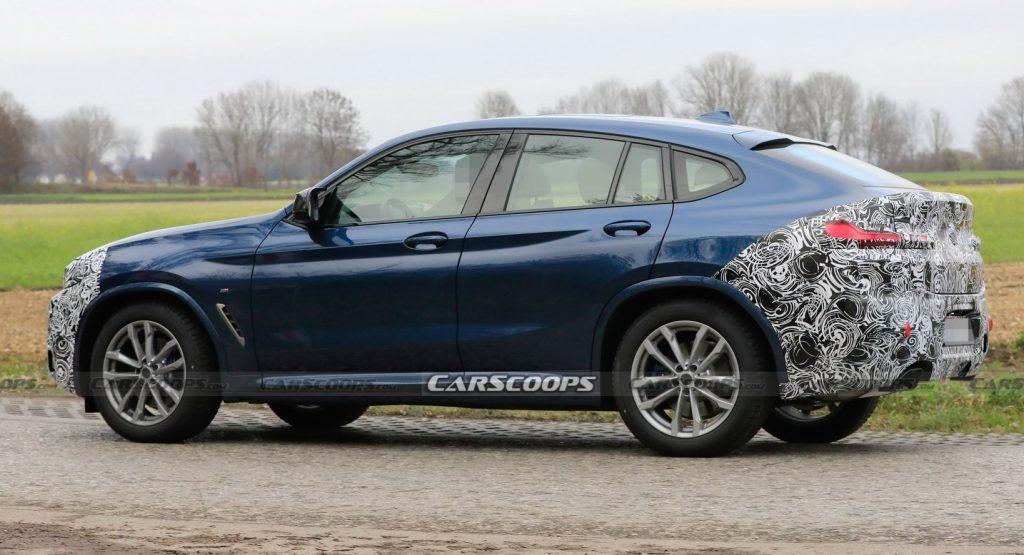 宝马正在对2022年X4 SUV进行细微的翻新