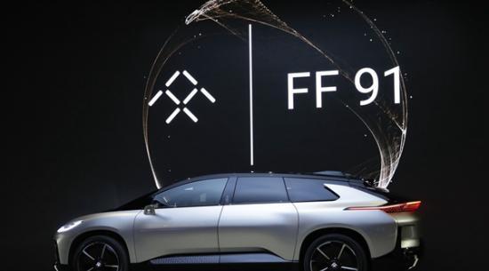 吉利表示将与富士康合作为法拉第未来生产电动汽车