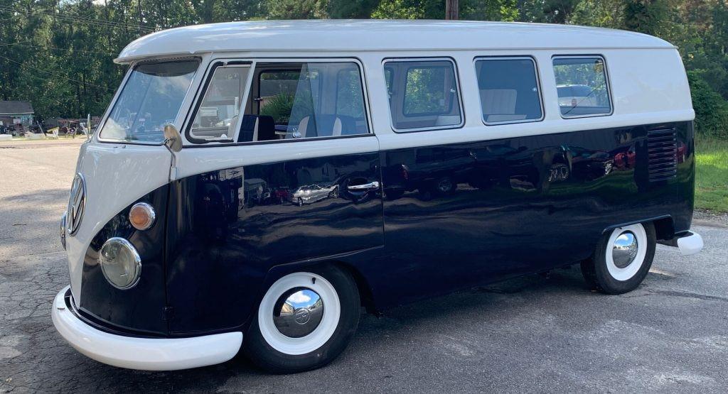 前浪汽车:这款完全修复的1965年大众II型巴士比新的保时捷Taycan花费更多