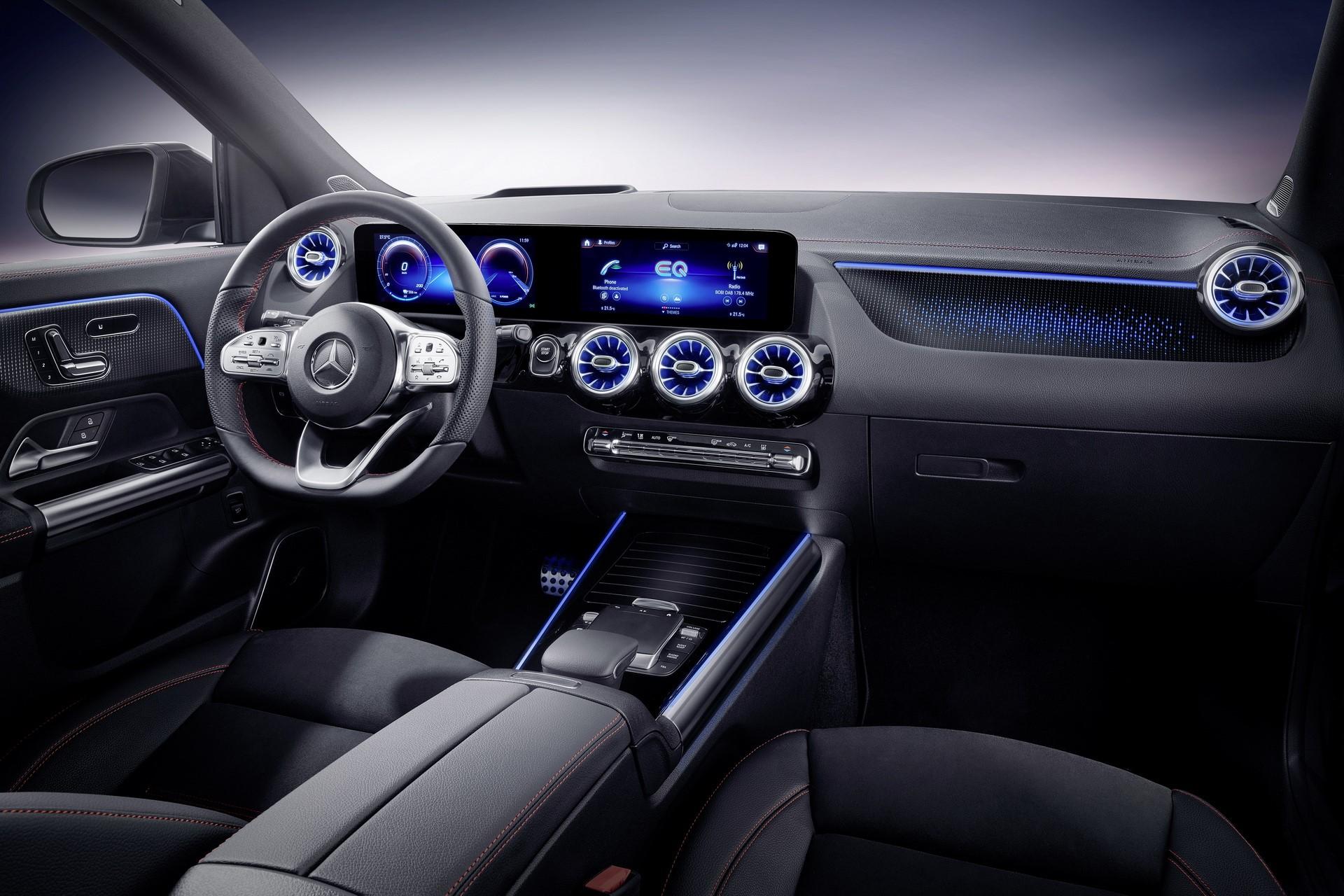 梅赛德斯-奔驰EQA在欧洲上市,在英国的起价为40,495英镑