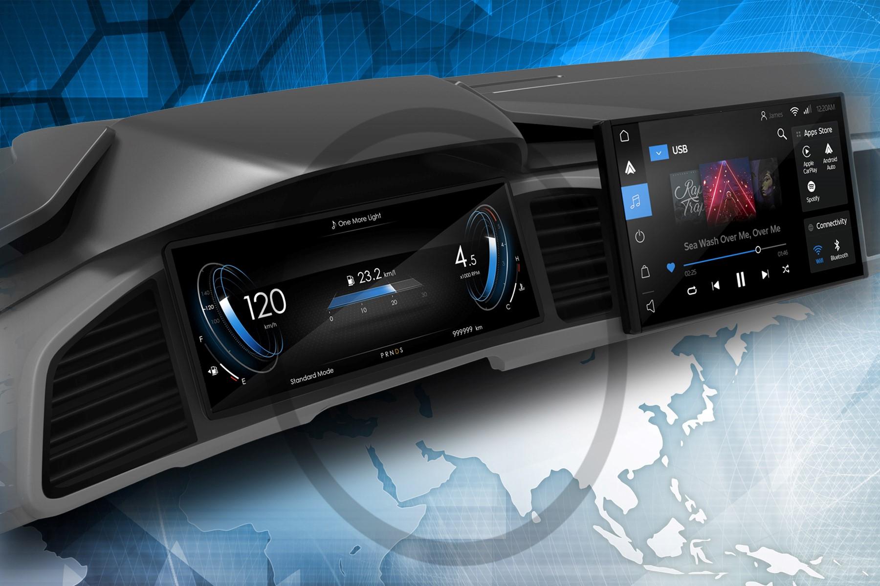 伟世通,ECARX和高通公司致力于智能数字驾驶舱