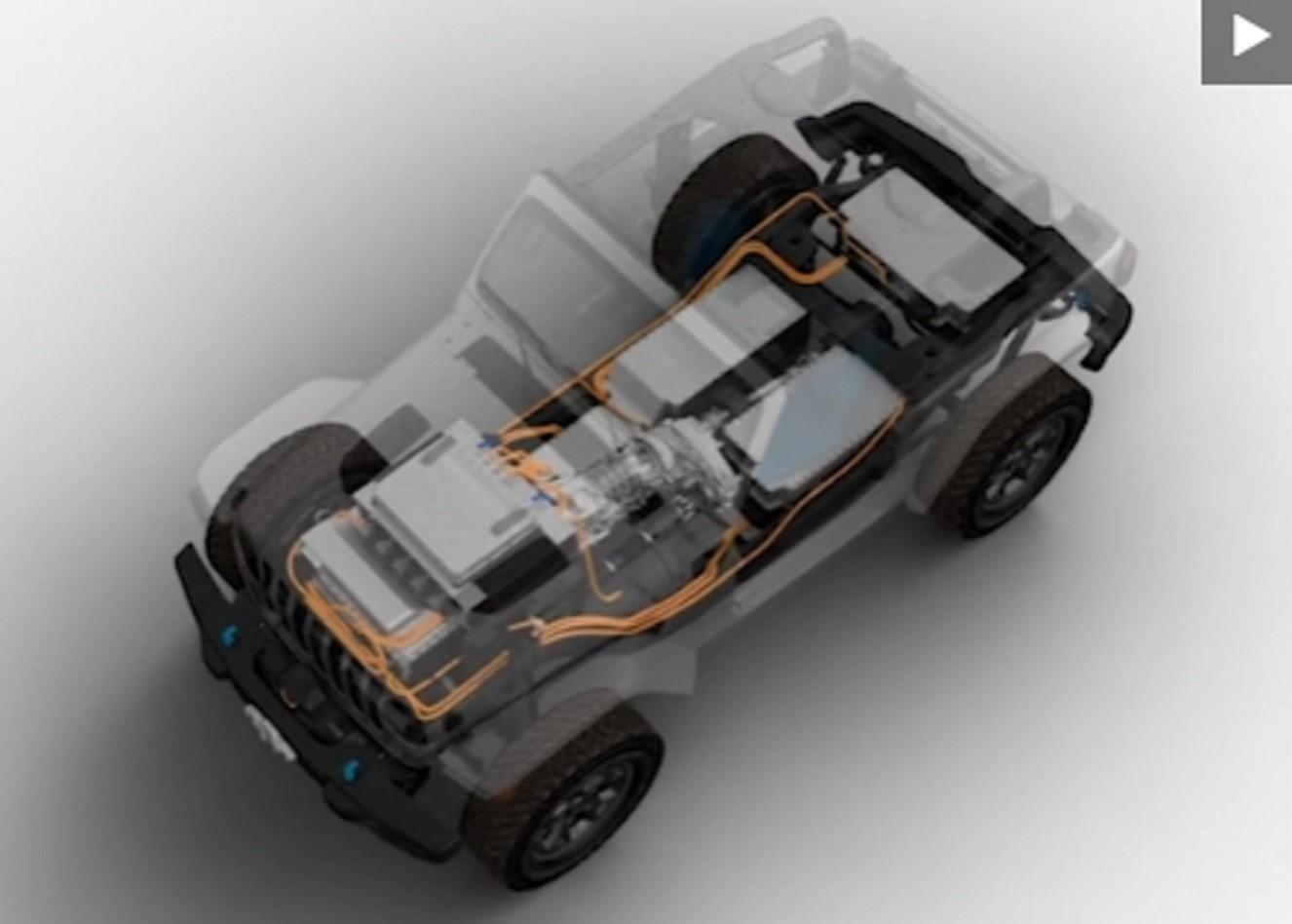 吉普牧马人电动车概念被嘲笑,今年晚些时候首次亮相