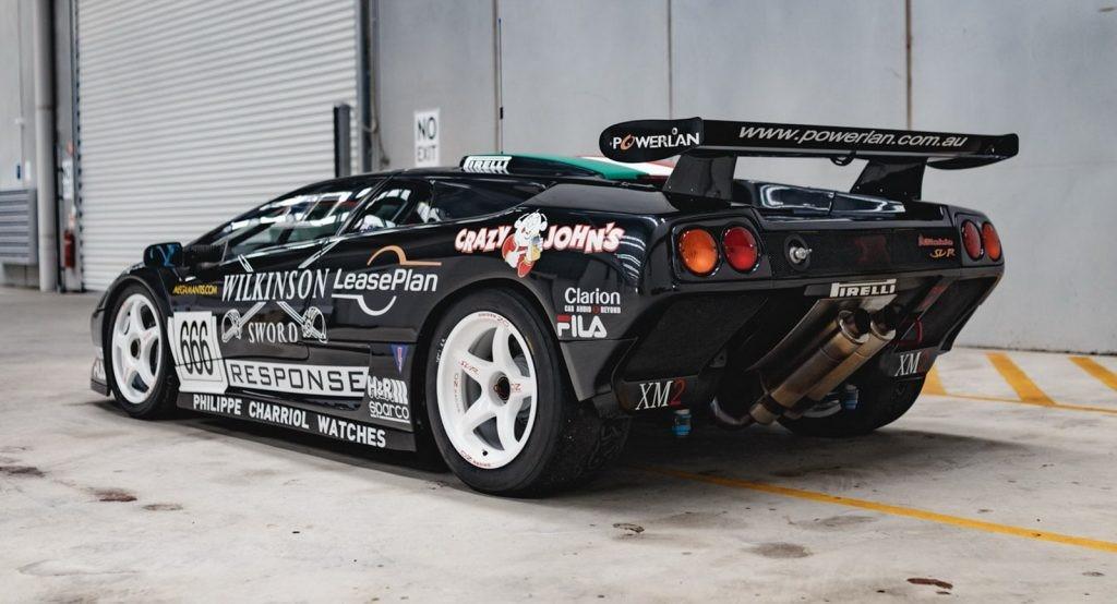 这款兰博基尼Diablo SV-R赛车将让其他超级跑车寻找妈妈