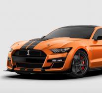满载的2021年福特野马GT500售价超过10.7万美元