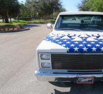 星条旗1986年雪佛兰皮卡待售惊呼美国