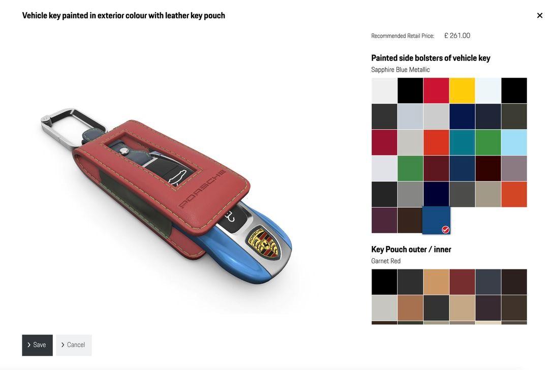 保时捷在线911 GT3配置器可让您创建梦想的钥匙扣,地板垫和用户手册