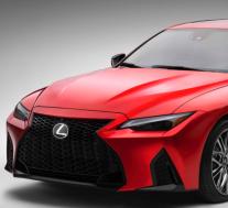2022年雷克萨斯IS F运动性能标志着仅次于全F车型的新性能系列中的第一款
