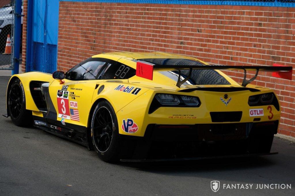 赢得比赛的2014年Corvette C7.R赛车即将拍卖