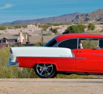 优雅的1955年雪佛兰Bel Air Hot Rod即将拍卖