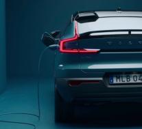 2022年沃尔沃C40 Recharge作为汽车制造商的首款纯电动车型首次亮相