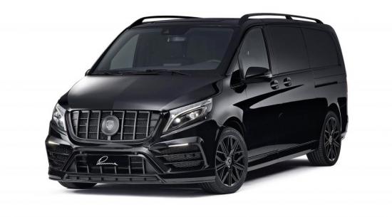 梅赛德斯-奔驰V级车加入了微型货车的阴暗面