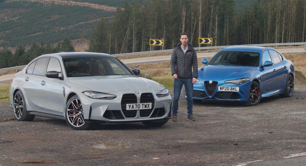 汽车动态:新的宝马M3竞争是否比阿尔法罗密欧GiuliaQV更好驾驶?