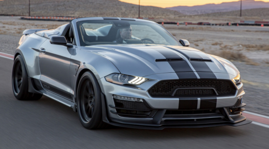 2021年福特Shelby Super Snake产生了speedster的车身风格