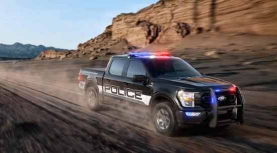 2021福特F-150警用卡车具有更高功率的发动机