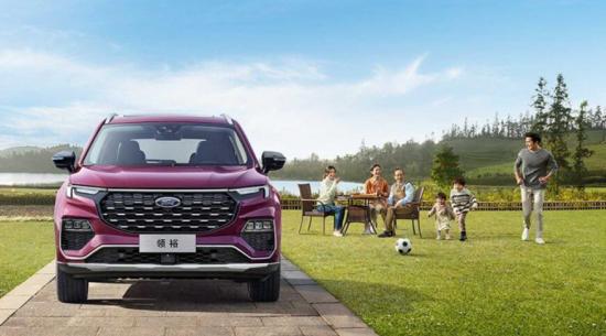 2021年福特Equator家用SUV再次成为仅中国车型