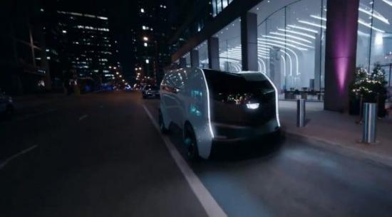凯迪拉克个人自动驾驶汽车在2021年消费电子展上亮相