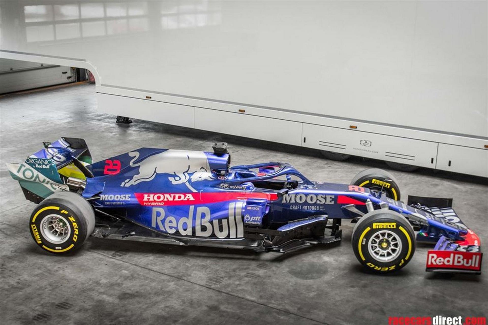 是否曾经想拥有F1汽车?现在是您的机会,这款2019 Toro Rosso STR14