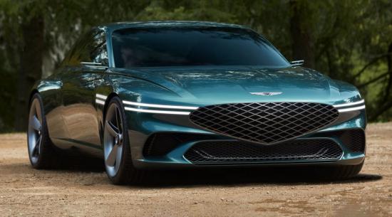 创世纪X概念双门跑车是一款非常帅气的电动时代豪华旅行车
