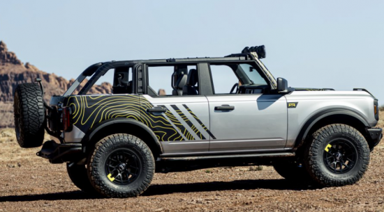 福特越野专家在Easter Safari展示Bronco配件