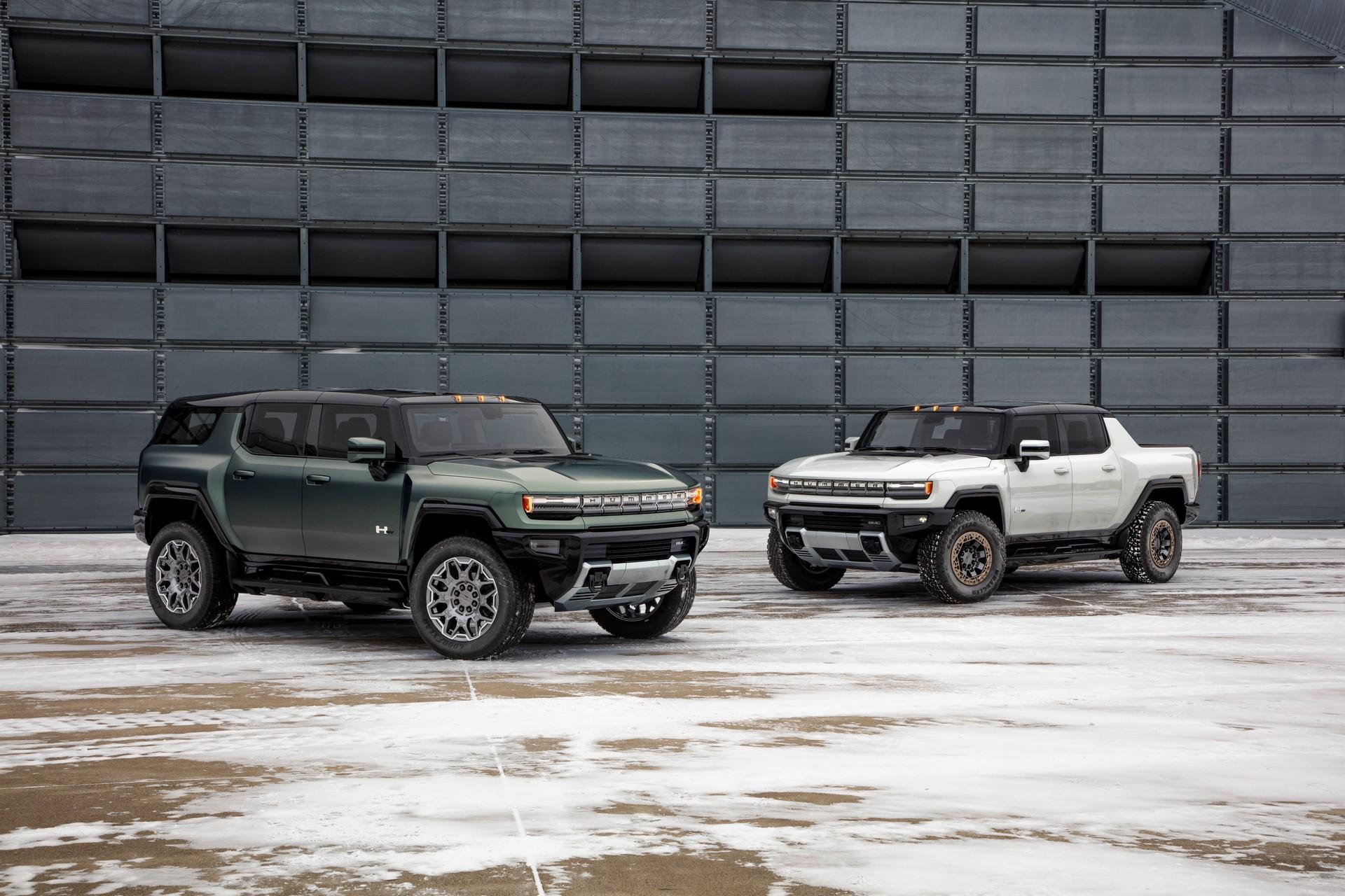 2024 GMC悍马电动SUV首次亮相,830 HP和300英里续航里程