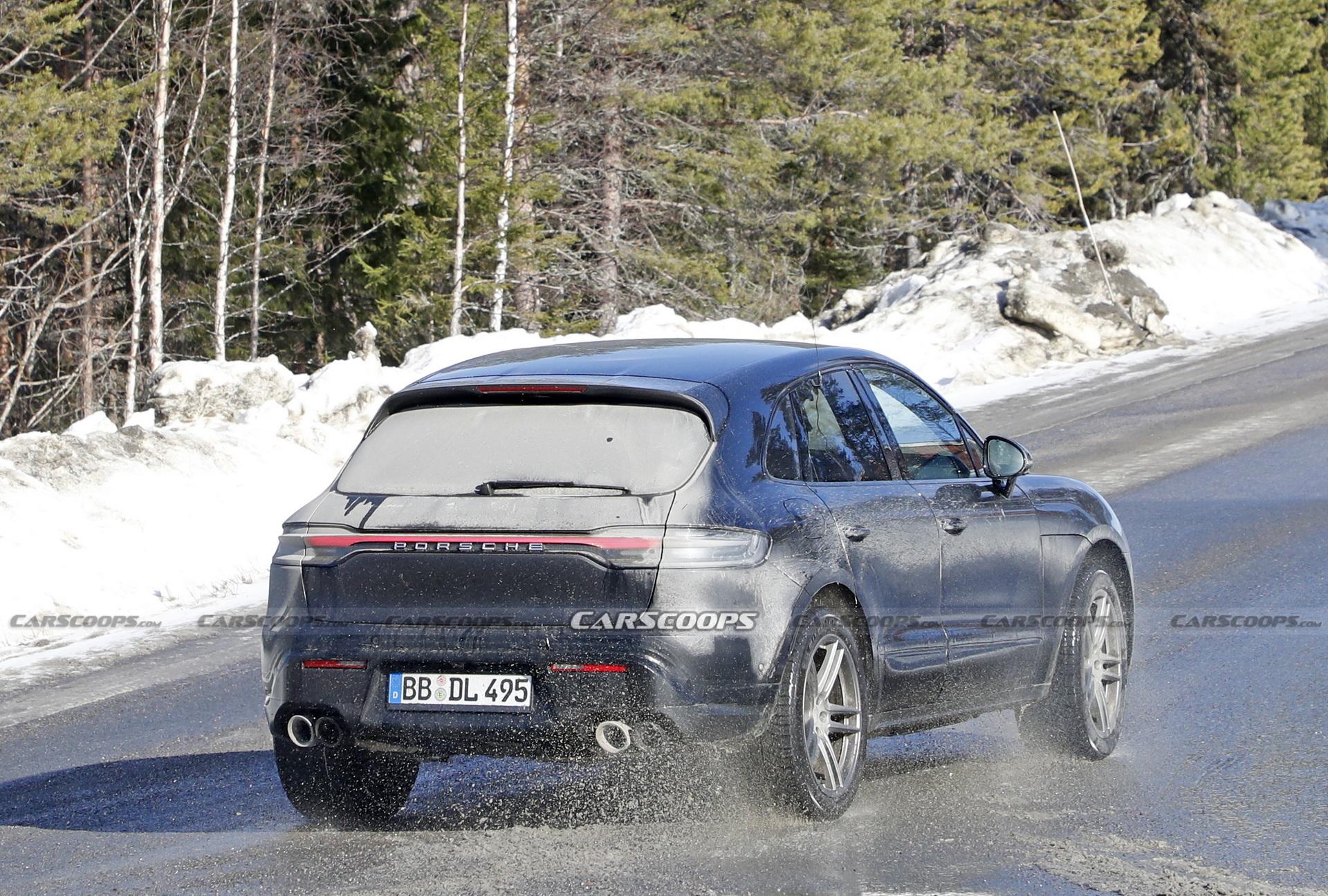 自2014年以来,保时捷对Macan SUV进行了第二次翻新