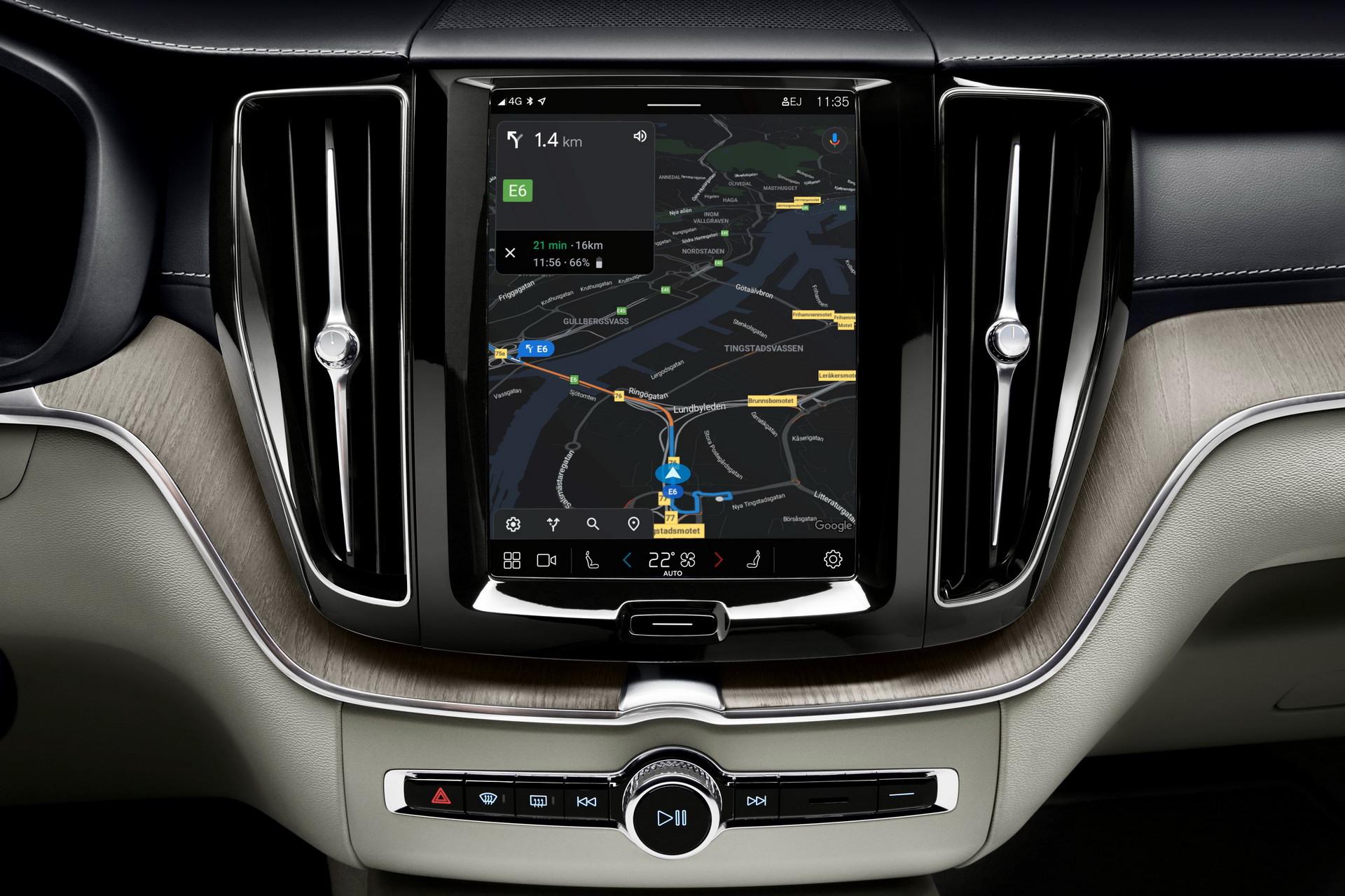 2021年沃尔沃XC60在英国推出新的基于Android的信息娱乐系统