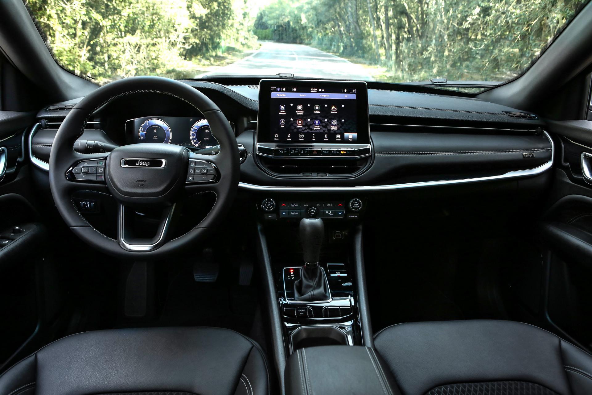 欧洲的2021年吉普指南针改版推出了2级半自动驾驶