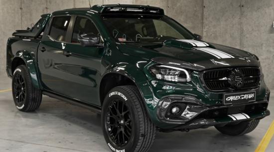 240,000美元的奔驰X级皮卡采用碳纤维覆盖