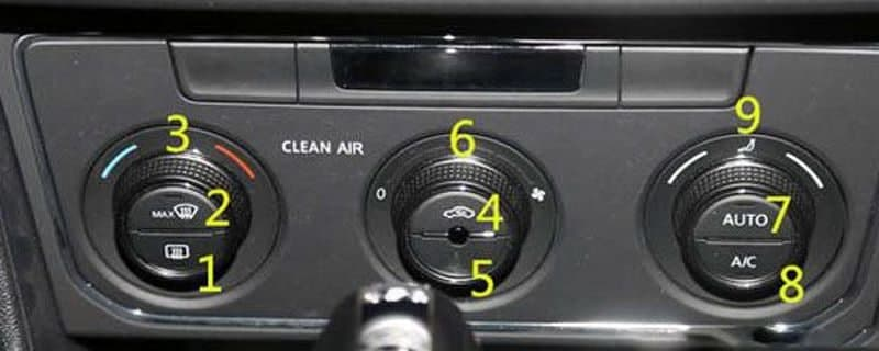 汽车资讯:朗逸汽车空调制冷怎么开
