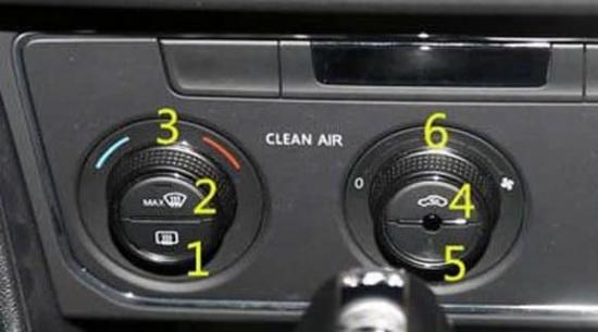 朗逸汽车空调制冷怎么开