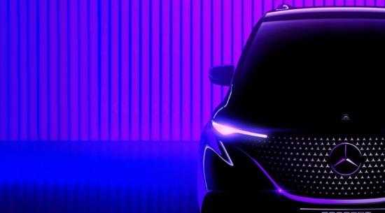 奔驰推出新款家用电动面包车