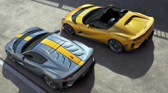 法拉利的新款812 Competizione在造型和空气动力学方面都令人赞叹