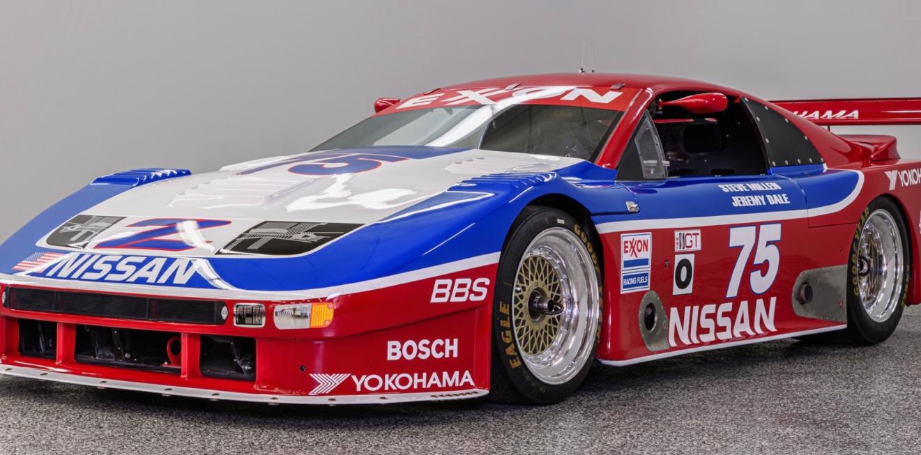 前浪汽车:1990日产300ZX Twin Turbo IMSA GTO赛车出售