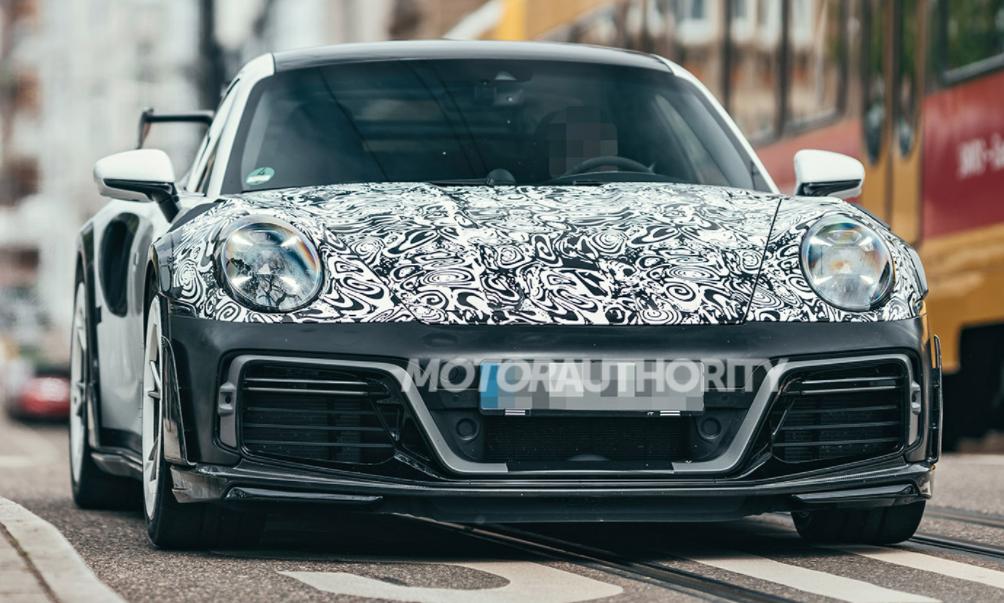 前浪汽车:2021年Techart GT街R谍照:保时捷911 Turbo S即将面世