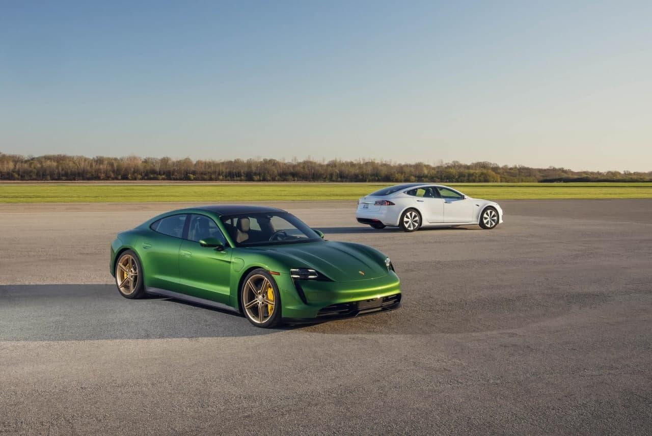 汽车资讯:2020年保时捷Taycan 4S与特斯拉Model S Long Range Plus的评论
