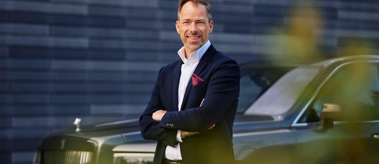 安德斯温宁回到宝马集团,担任劳斯莱斯的首席设计师